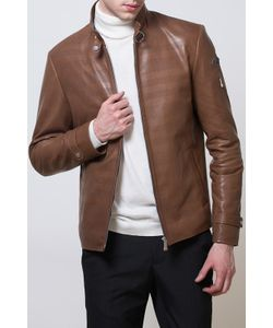 ALFREDO GALLIANO | Куртка Кожаная Перфорированная