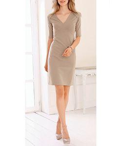 Marca-M | Полуприлегающее Платье С Короткими Рукавами