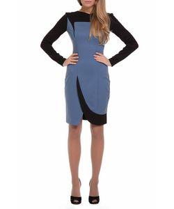 Gloss | Контрастное Платье-Миди С Разрезом