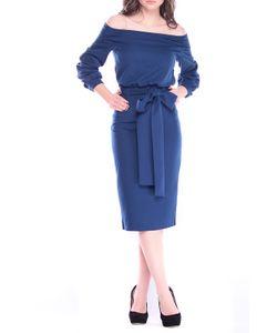 REBECCA TATTI | Платье С Открытыми Плечами И Поясом