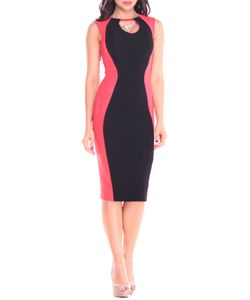REBECCA TATTI | Элегантное Платье Приталенного Силуэта