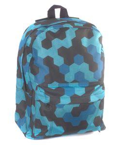 3D BAGS | Рюкзак Мозаика Синяя