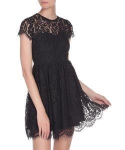 Glamorous   Полуприлегающее Платье Из Гипюра На Подкладке