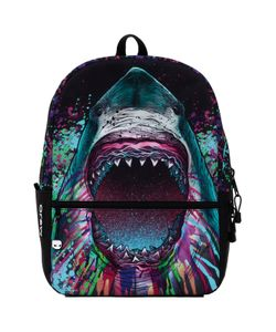 Mojo Pax | Рюкзак Shark Color Burst