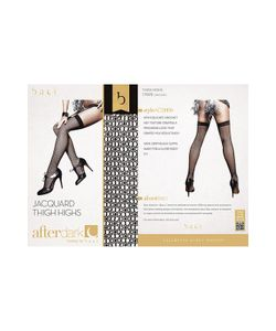 Baci-Lingerie Black Label Collection | Жаккардовые Чулки