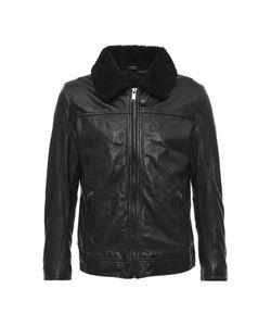 Cortefiel | Куртка Кожаная