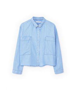 Mango | Рубашка Джинсовая