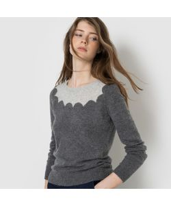 MADEMOISELLE R | Пуловер Двухцветный