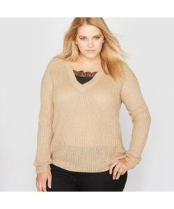 CASTALUNA | Пуловер С V-Образным Вырезом 2 В 1