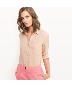 R essentiel | Рубашка Прямая Из Льна