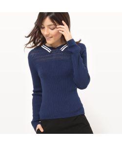 MADEMOISELLE R | Пуловер С Воротником Поло Из Хлопка