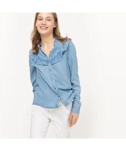Vero Moda | Рубашка С Воланами Длинные Рукава
