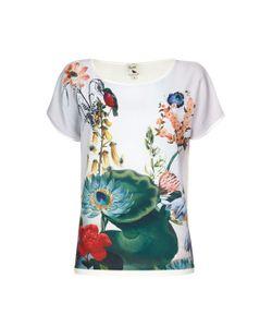 Yumi | Пуловер С Короткими Рукавами И Цветочным Рисунком