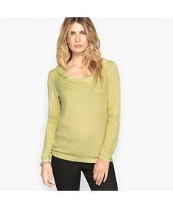 ANNE WEYBURN | Пуловер С Оригинальным Вырезом 8 Шерсти