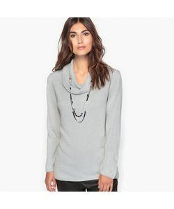 ANNE WEYBURN | Пуловер С Объемным Воротником-Хомутом Из Ткани Напоминающей На Ощупь Кашемир