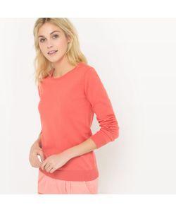R édition | Пуловер С Круглым Вырезом Из Хлопка