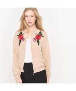 MADEMOISELLE R | Куртка-Бомбер С Цветочным Рисунком
