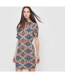 Vero Moda | Платье С Рисунком И Короткими Рукавами