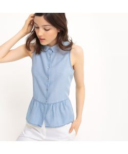 MADEMOISELLE R | Рубашка Приталенная Из Денима