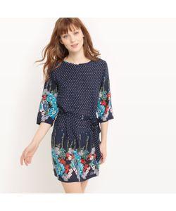 Molly Bracken | Платье С Рисунком В Горошек И Цветочным Рисунком