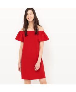 R édition   Платье С Верхом В Форме Бандо И Открытыми Плечами