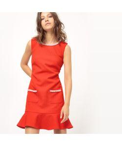Molly Bracken | Платье Прямое С Баской