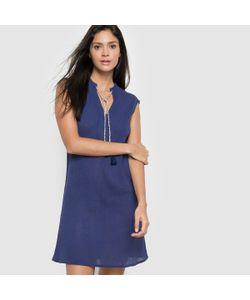 R édition | Платье Из Вуали И Крепона