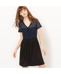 Vero Moda | Платье Короткое С Короткими Рукавами Однотонное