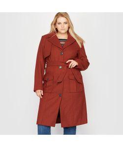 CASTALUNA | Пальто Стилизовано Под Тренч 40 Шерсти
