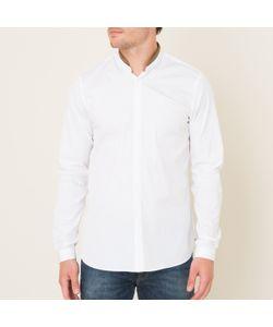The Kooples | Рубашка Однотонная С Отделкой Кожей
