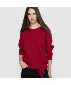 Compania Fantastica | Пуловер С Круглым Вырезом И Шнуровкой