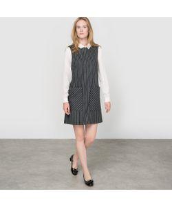 MADE IN FRANCE | Платье Без Рукавов Произведено Во Франции