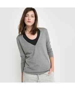 R essentiel | Пуловер С V-Образным Вырезом Из Хлопка/Кашемира