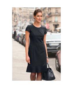 ANNE WEYBURN | Платье Из Струящейся Саржи