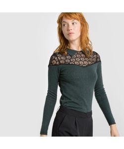 MADEMOISELLE R | Пуловер Из Кружева И Трикотажа