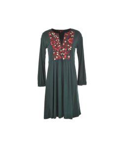 Rene Derhy | Платье Из Трикотажа Genièvre С Расшитой Манишкой