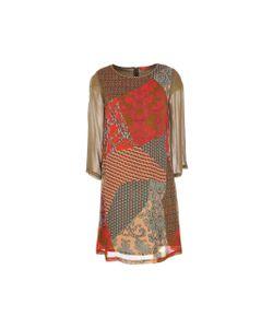 Rene Derhy | Платье Scaramouche Из Вуали С Принтом