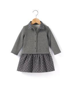 R baby | Платье Из Мольтона С Длинными Рукавами