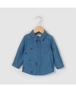 R mini   Рубашка Из Денима 1 Мес.-3 Лет