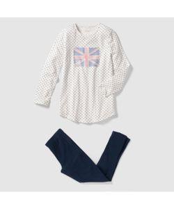 R pop   Пижама Из Ночной Рубашки И Леггинсов 10-16 Лет