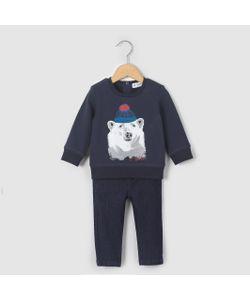 R mini | Комплект Из Свитшота И Джинсов Возраст 1 Мес. 3 Года