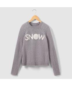 R pop   Пуловер С Отделкой Из Трикотажа Букле 10-16 Лет