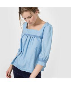 MADEMOISELLE R | Блузка Из Легкого Денима