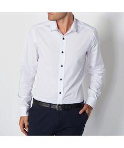 R édition   Рубашка В Городском Стиле С Контрастными Деталями