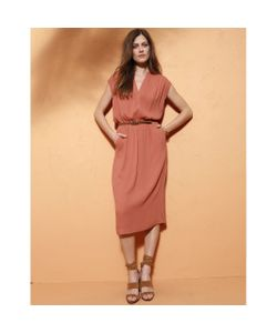 atelier R | Платье Со Складками Из Вискозы