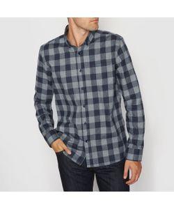 R essentiel | Рубашка Прямого Покроя С Длинными Рукавами Из Фланели
