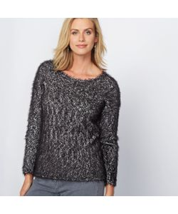 ANNE WEYBURN | Пуловер Из Оригинального Ворсистого Трикотажа