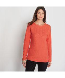 ANNE WEYBURN | Пуловер Из Оригинального Трикотажа 15 Шерсти