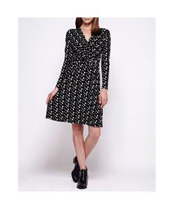 Yumi | Платье С Запахом С Длинными Рукавами