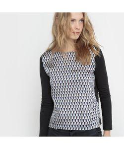 JOE RETRO | Блузка Etoil С Графическим Принтом